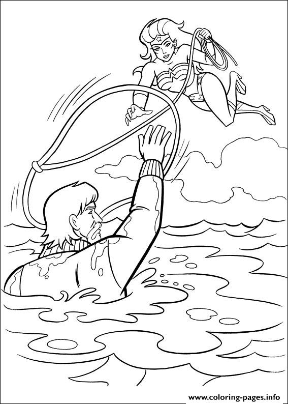 Wonder Woman 16 coloring pages