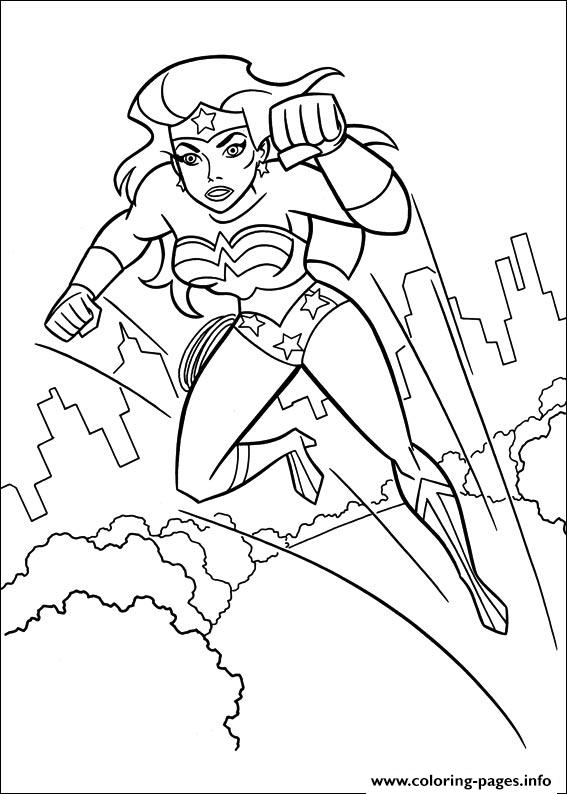 Wonder Woman 46 coloring pages