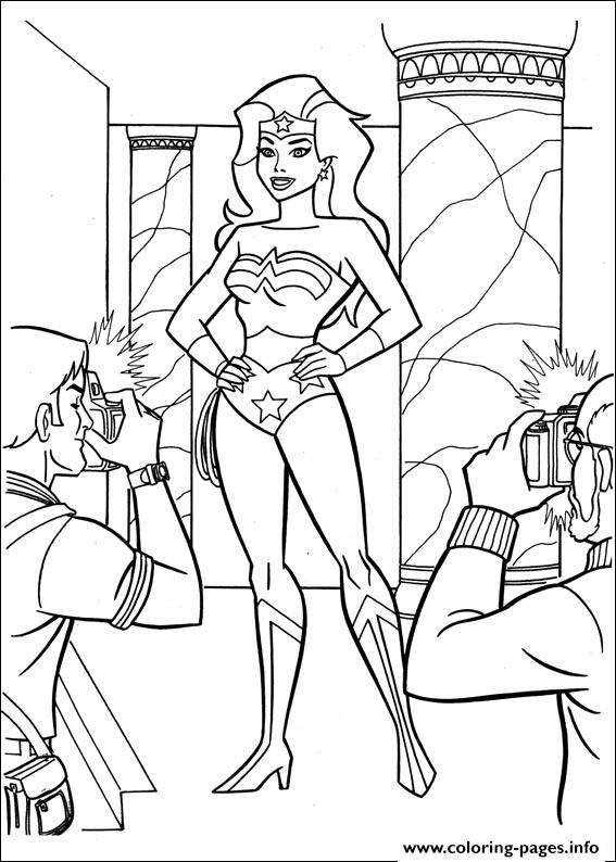 Wonder Woman 58 coloring pages