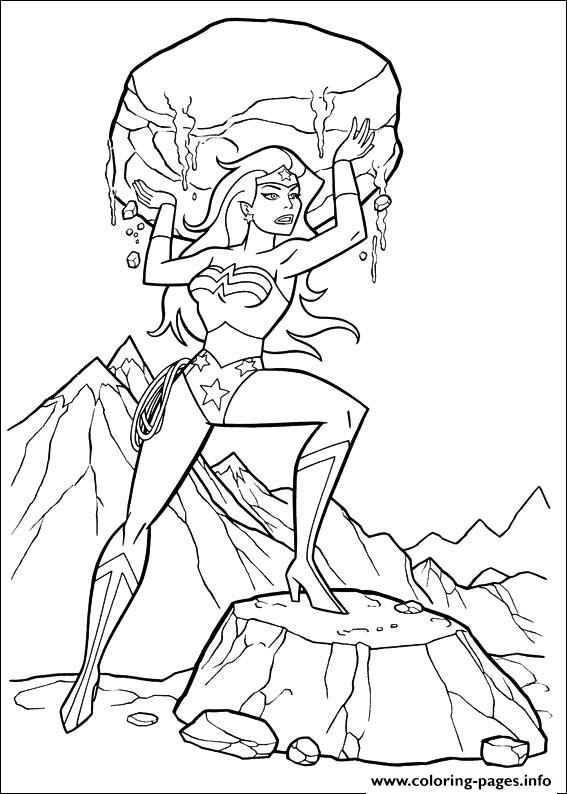 Wonder Woman 06 coloring pages