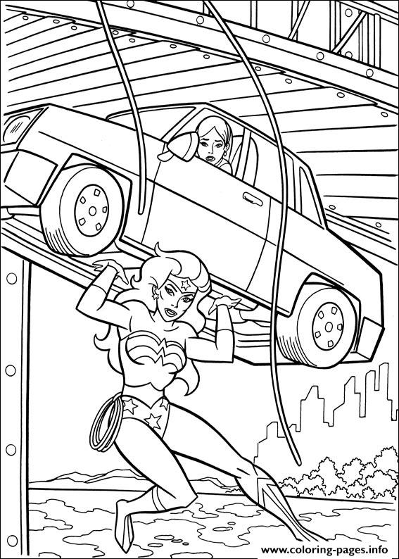 Wonder Woman 40 coloring pages