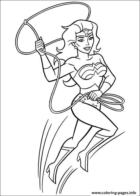 Wonder Woman 41 coloring pages
