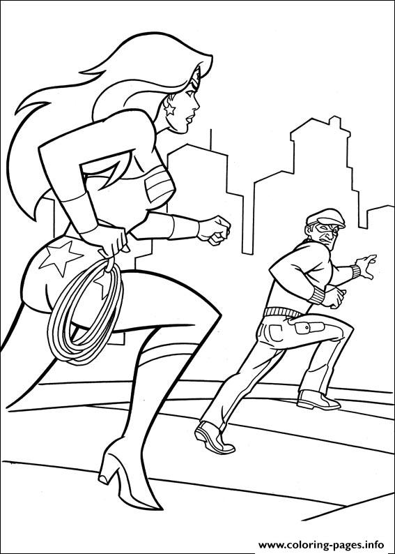 Wonder Woman 56 coloring pages