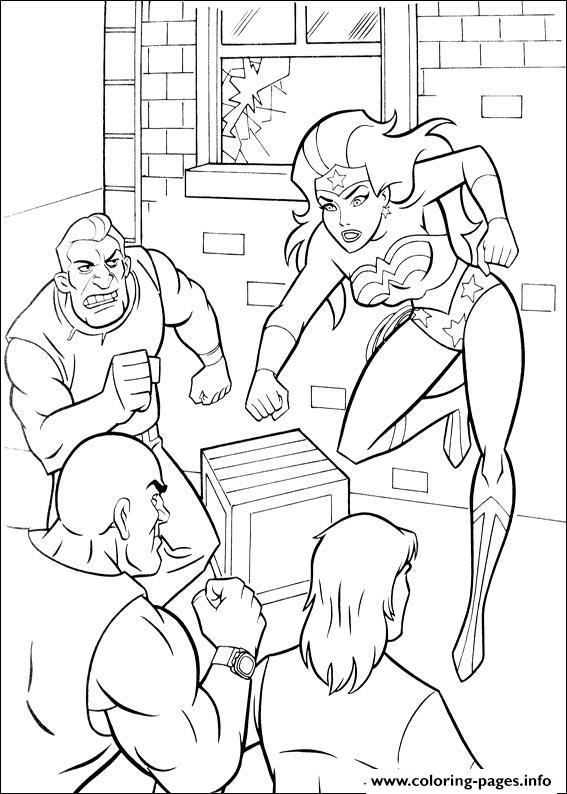 Wonder Woman 19 coloring pages