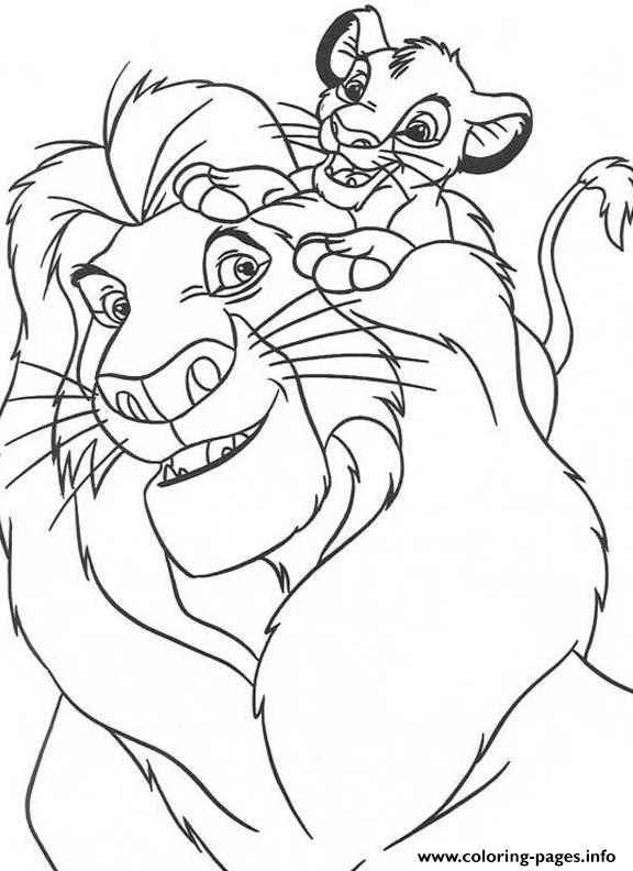 Disney  For Kids Lion Kingae0c coloring pages