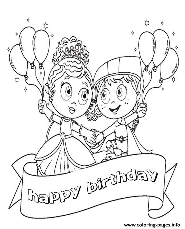 Happy Birthday  Disney Cartoonf9f2 coloring pages