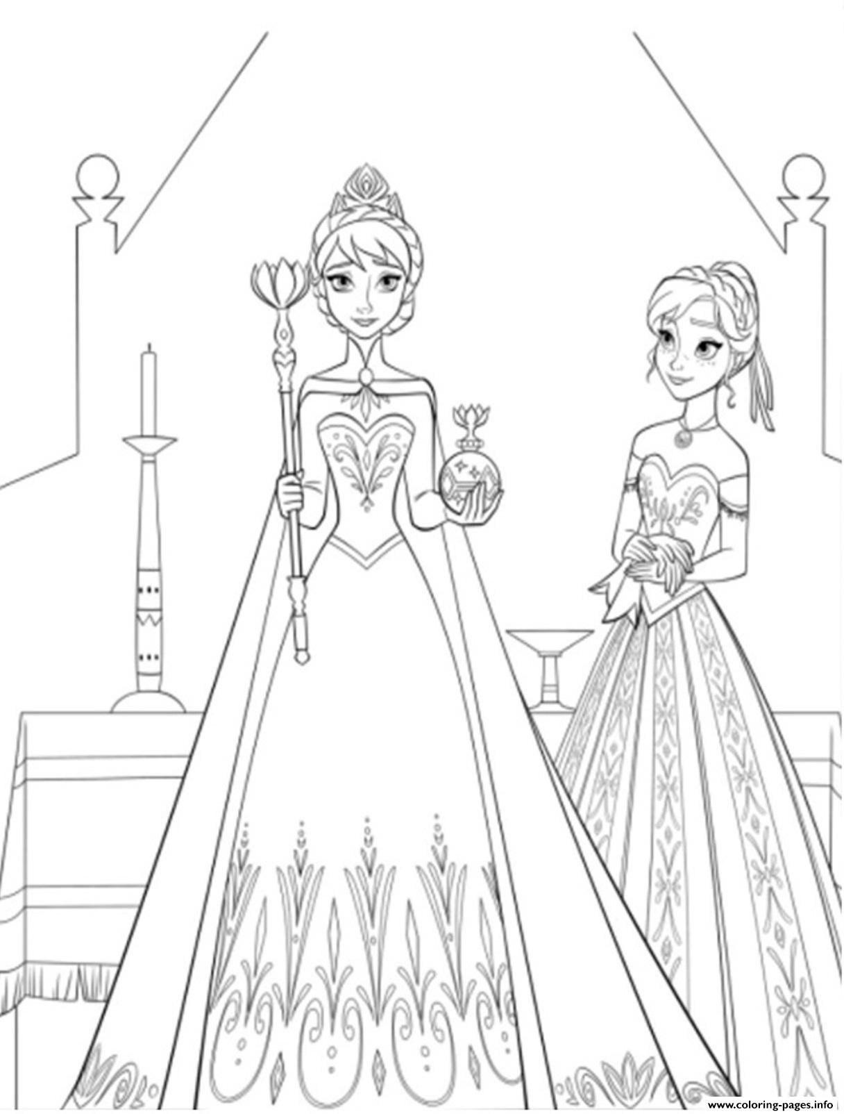 Coloring Page Free Frozen Disney6da1 coloring pages