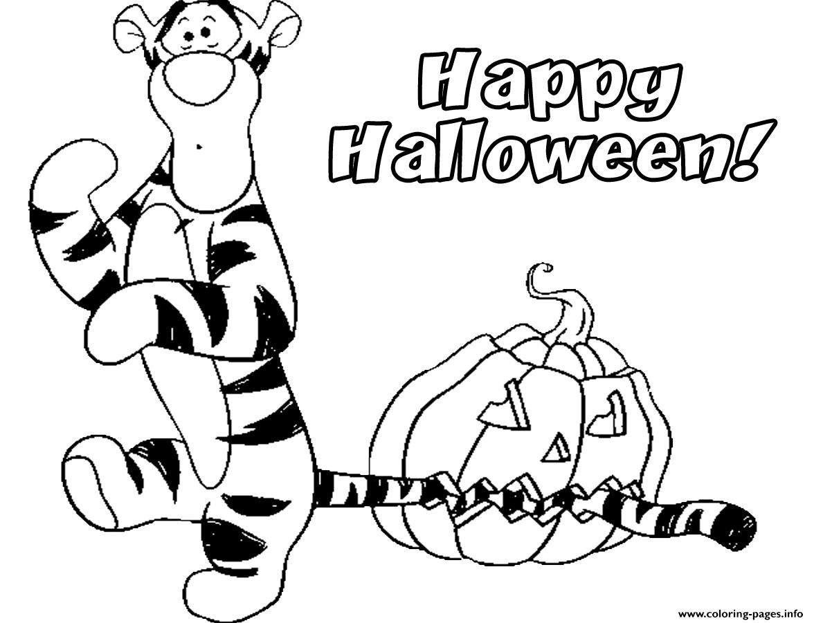 Halloween Disney Pumpkin Fe9a coloring pages
