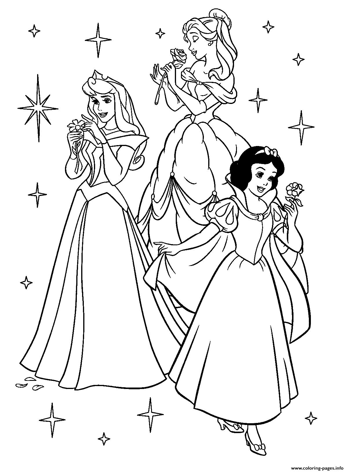 For Girls Disney Princess0bae coloring pages