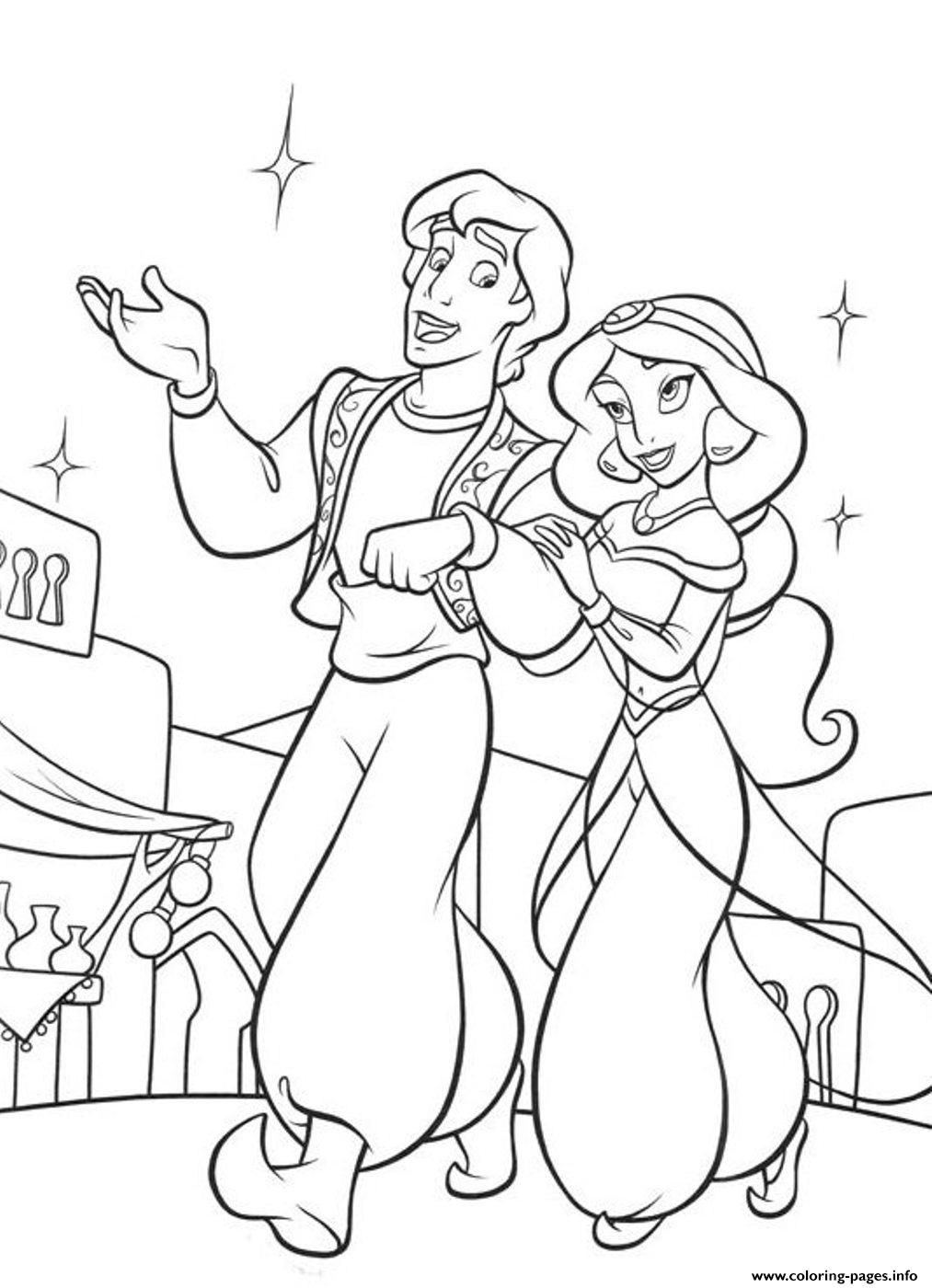 Aladdin  Disneys2bb1 coloring pages