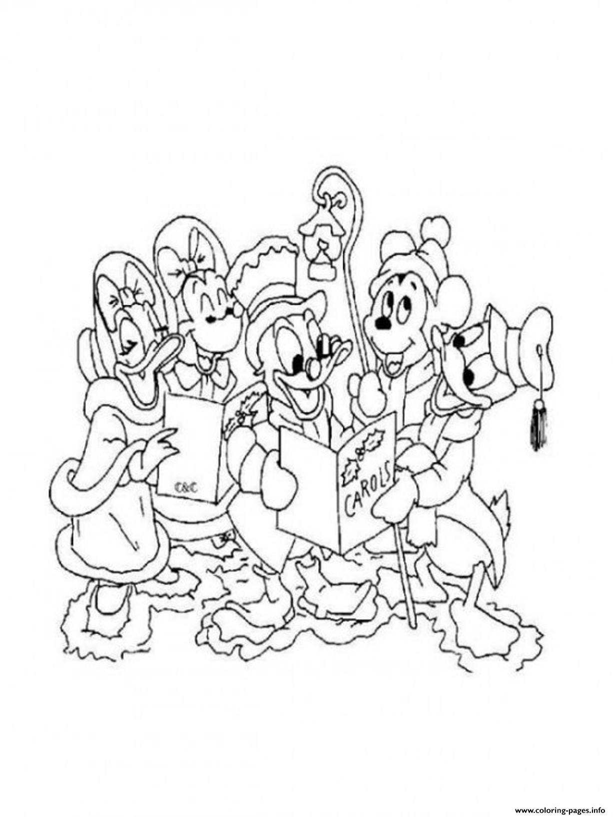 Disney Christmas Printable Freef876 Coloring Pages Printable