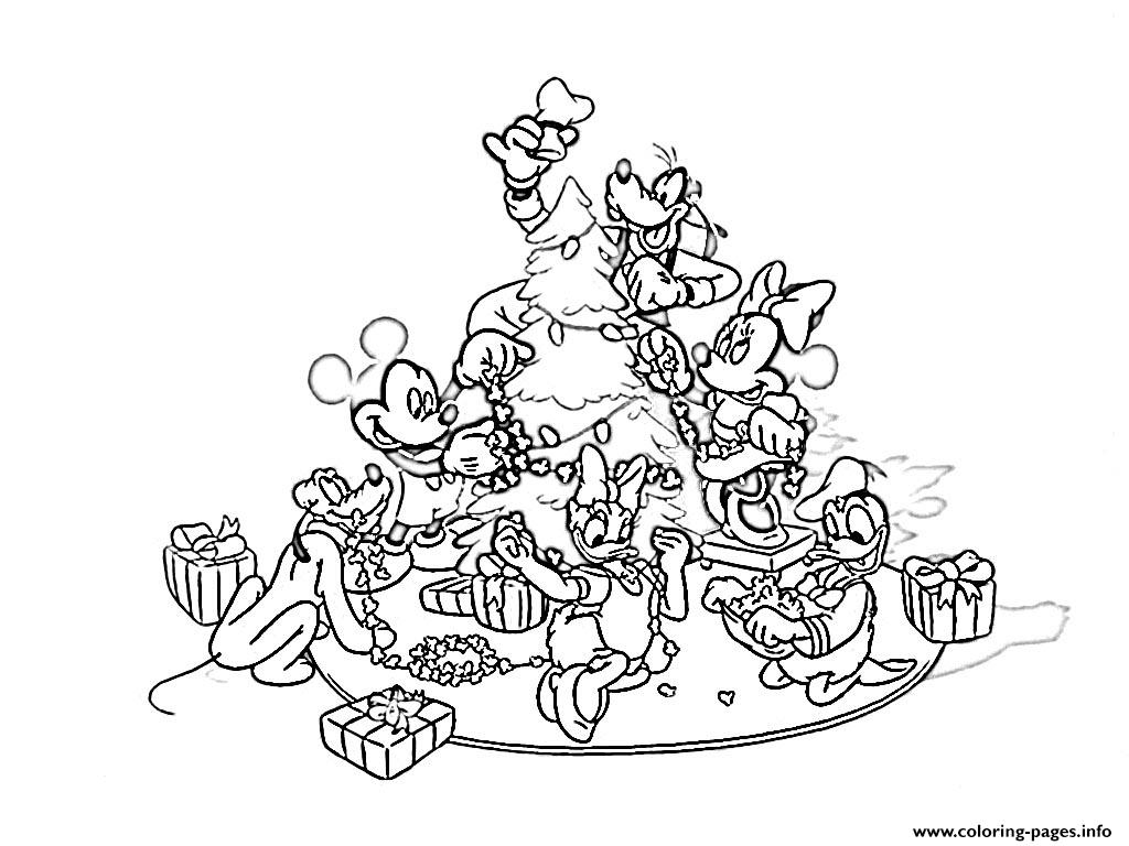 Disney Christmas  Printable33a8 coloring pages