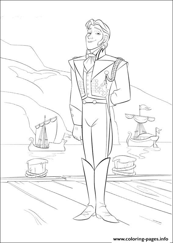 Frozen 08 coloring pages