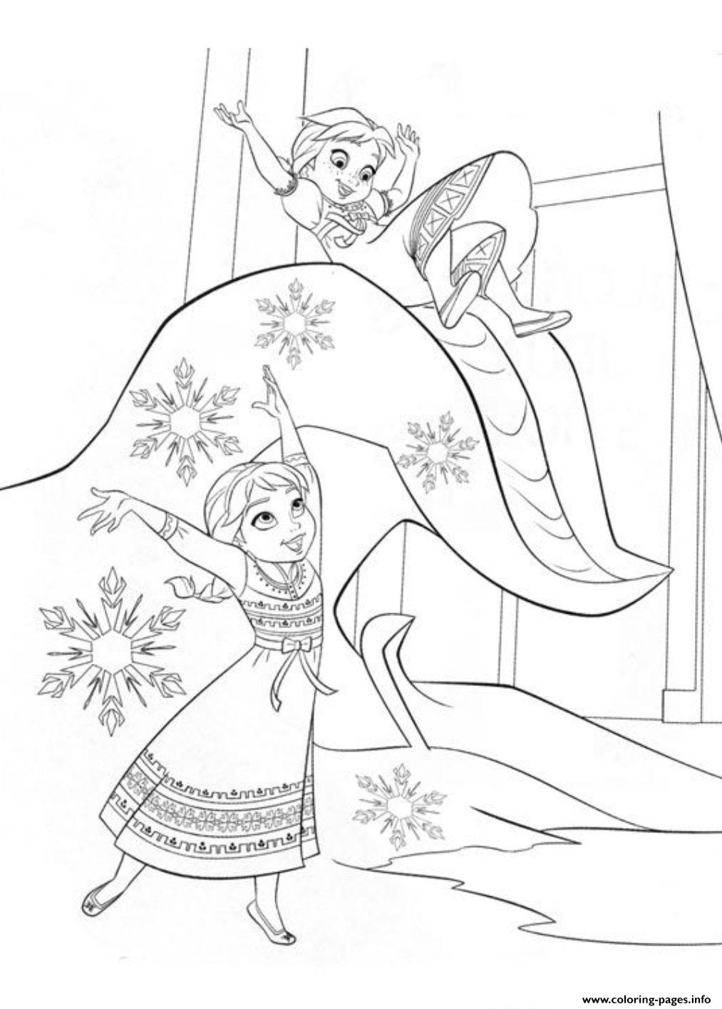 Sister Of Frozenc09e coloring pages