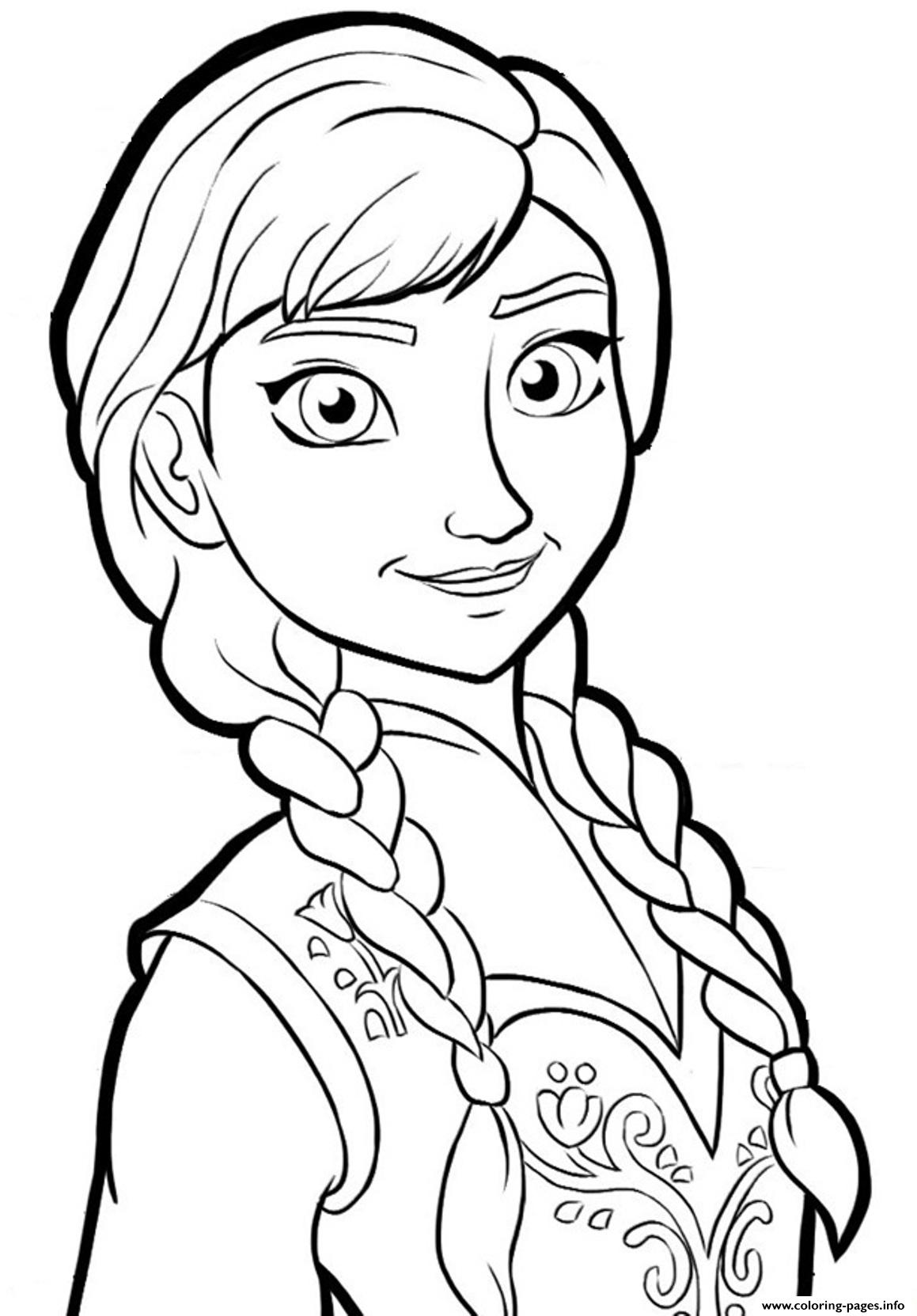 anna frozenb825 coloring pages