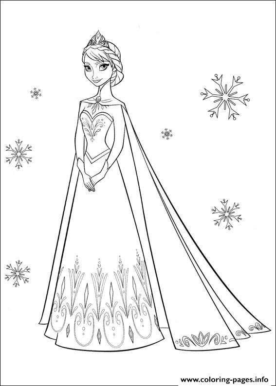 Frozen 31 coloring pages