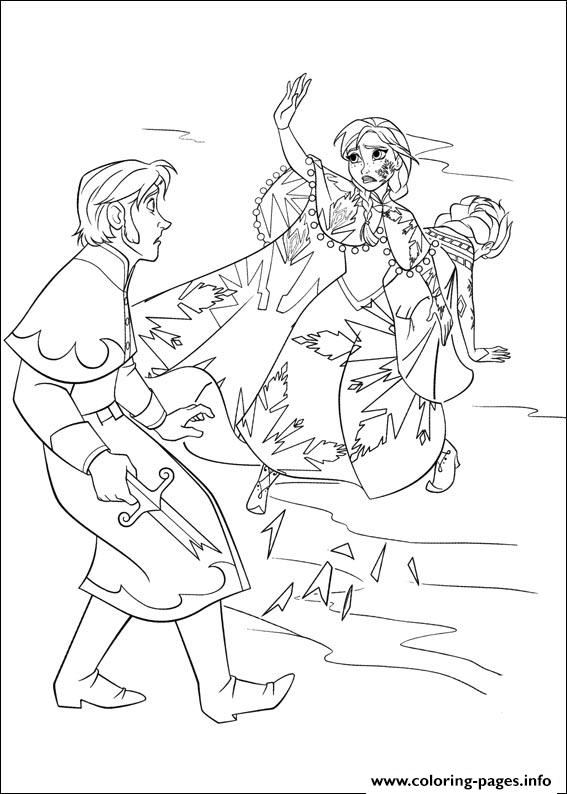 Frozen 33 coloring pages