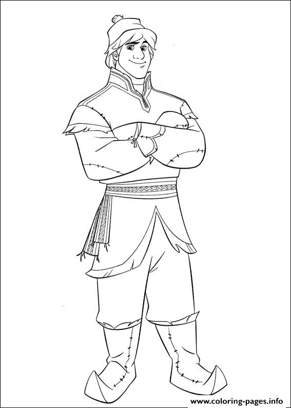Frozen 15 coloring pages