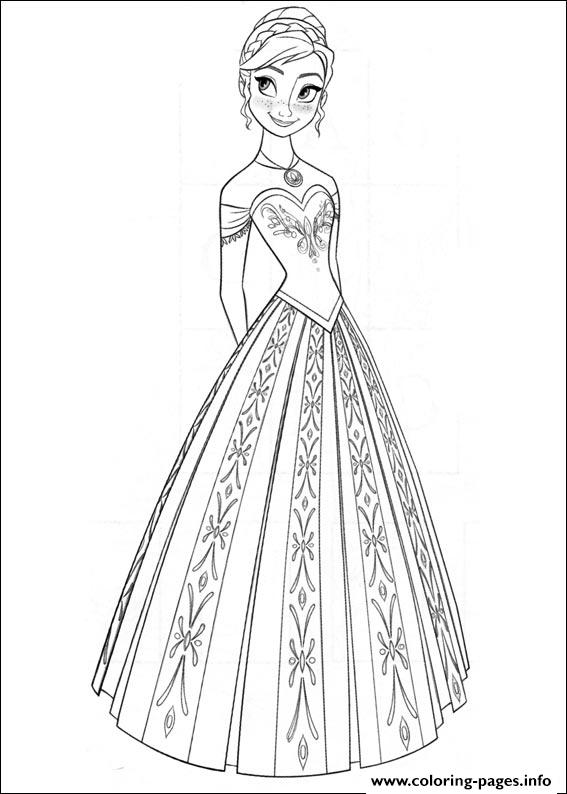 frozen 09 coloring pages