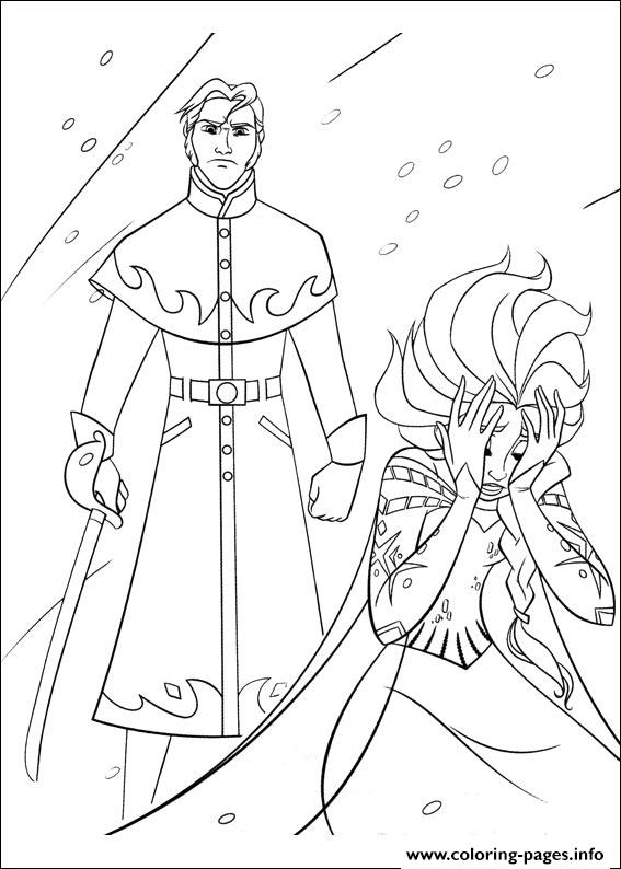 Prince Hans Of The Southern Isles coloring pages