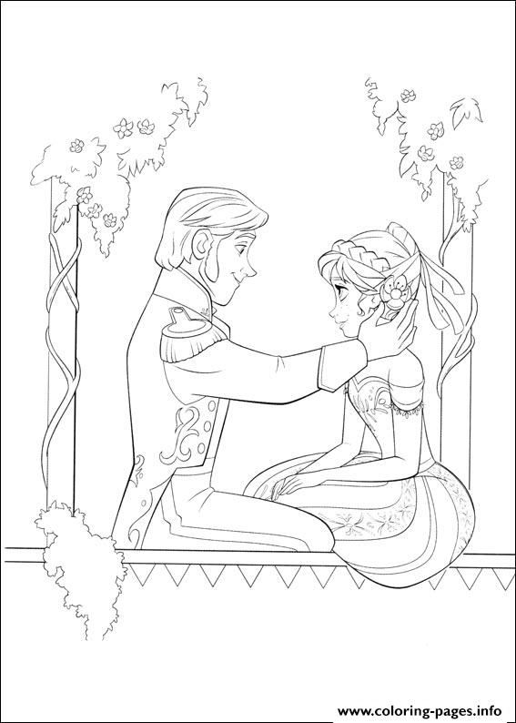 frozen 07 coloring pages