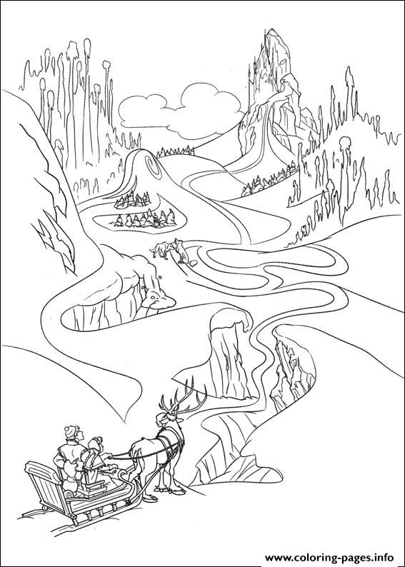 frozen 14 coloring pages