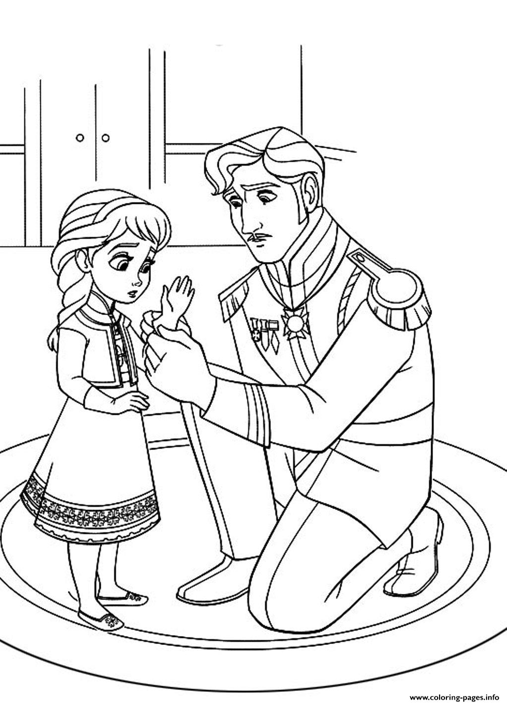 Free Frozen D500 coloring pages