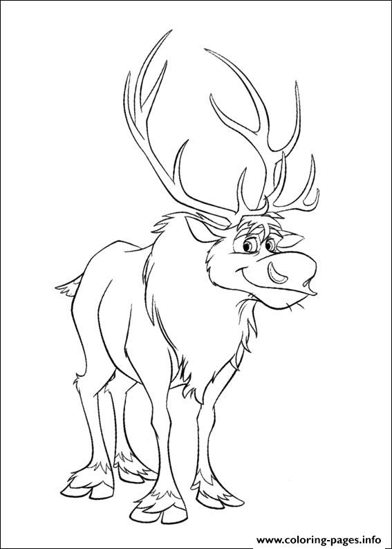 Frozen 21 coloring pages