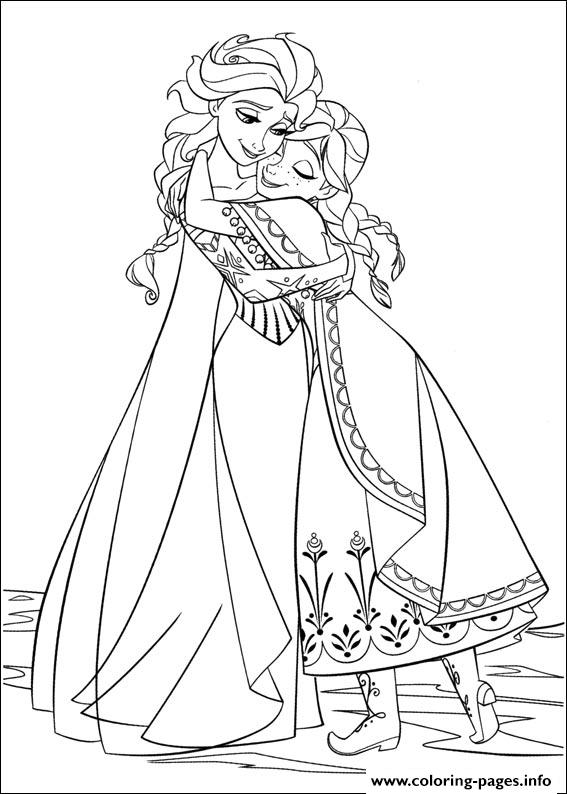 Frozen 34 coloring pages