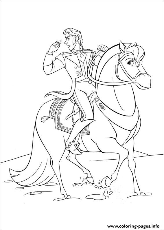 Frozen 27 coloring pages