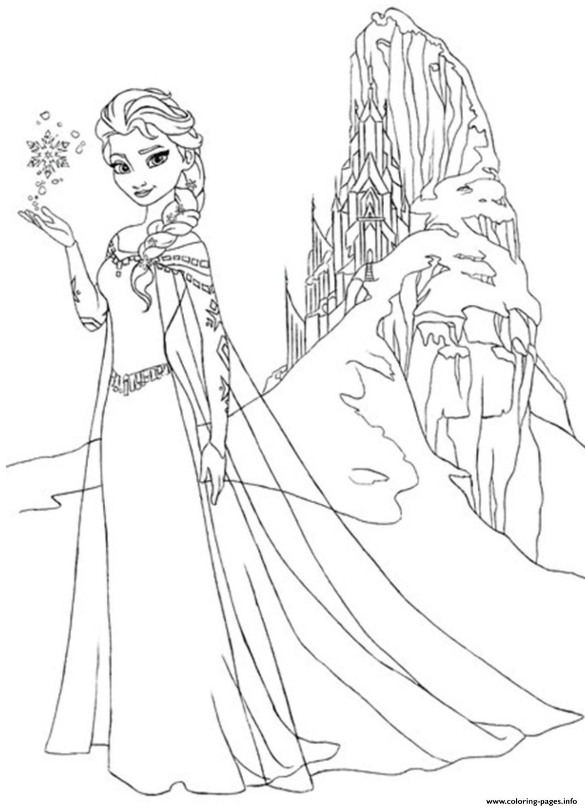 frozen 244f coloring pages