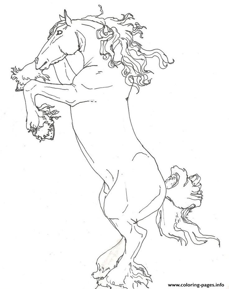 Shire Horse Coloring Pages Free Coloring Pages Of Draft Draft Coloring Pages