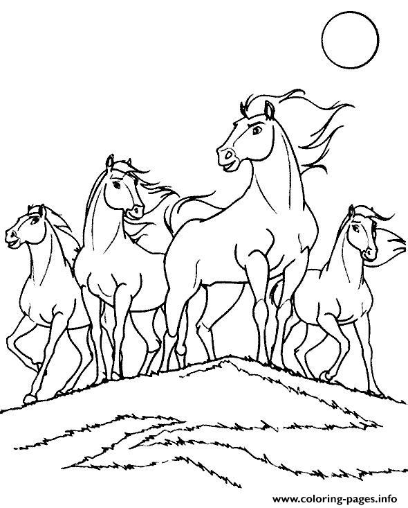 Horse S For Boysc776 coloring pages