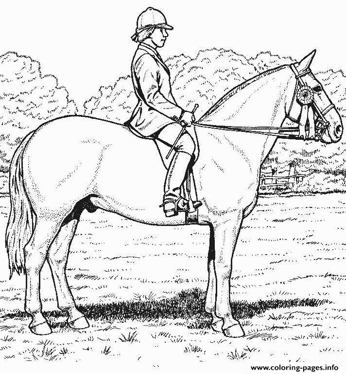 Derby Horse S7e91 Coloring Pages