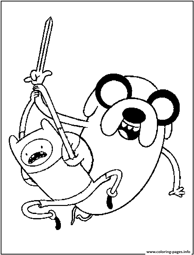 free adventure time sae9a coloring pages printable