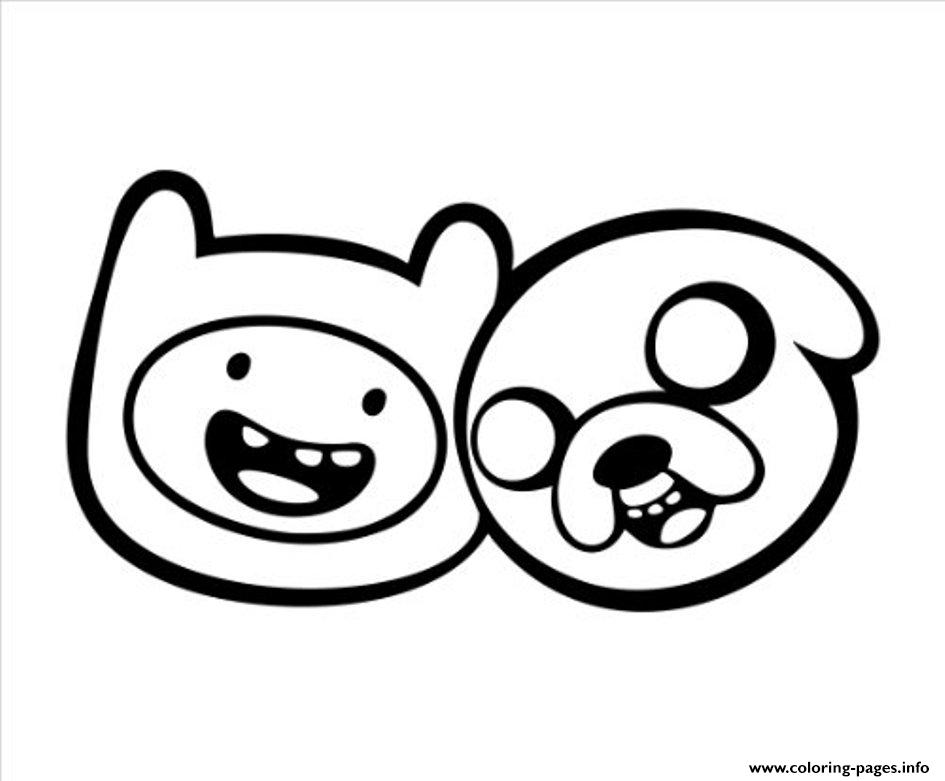 Printable Finn And Jake Adventure Time Sca42 Coloring Pages Printable