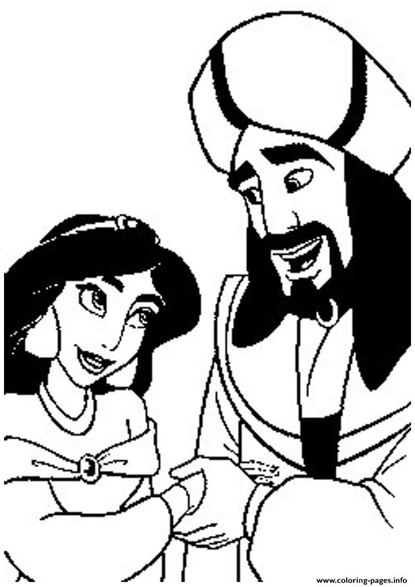 Jafar And Jasmine Disney Sa2c1