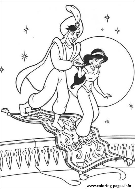 The Carpet Turn Into Stair Disney Princess Coloring Pagesb2f9
