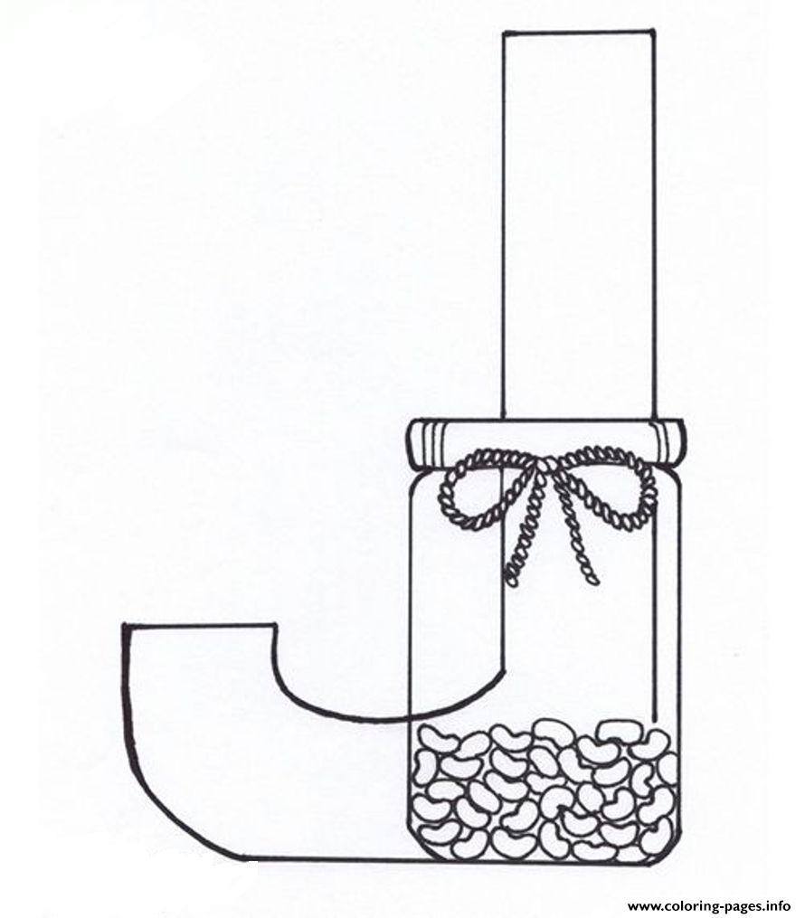 printable coloring pages letter j - photo#19