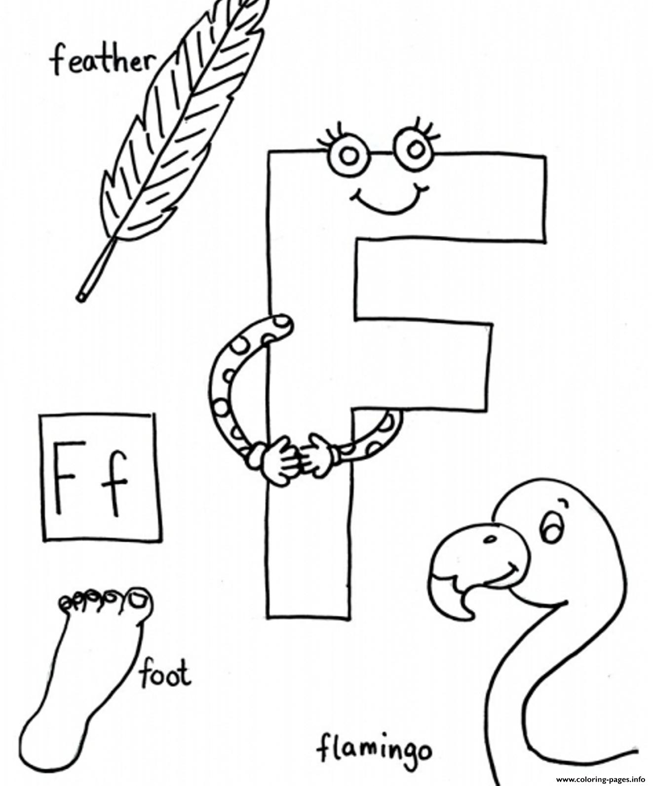 Words of f free alphabet s7848 coloring pages printable for Letter f coloring pages for preschoolers