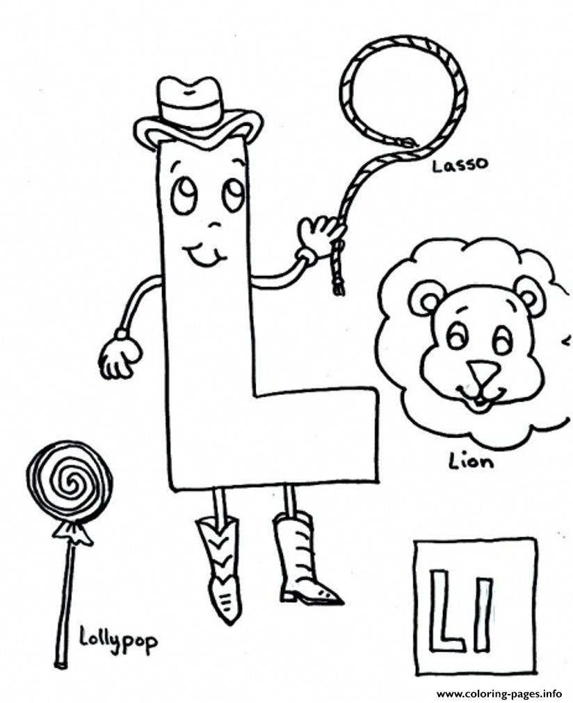 Kids L Alphabet S Free3f6b coloring pages