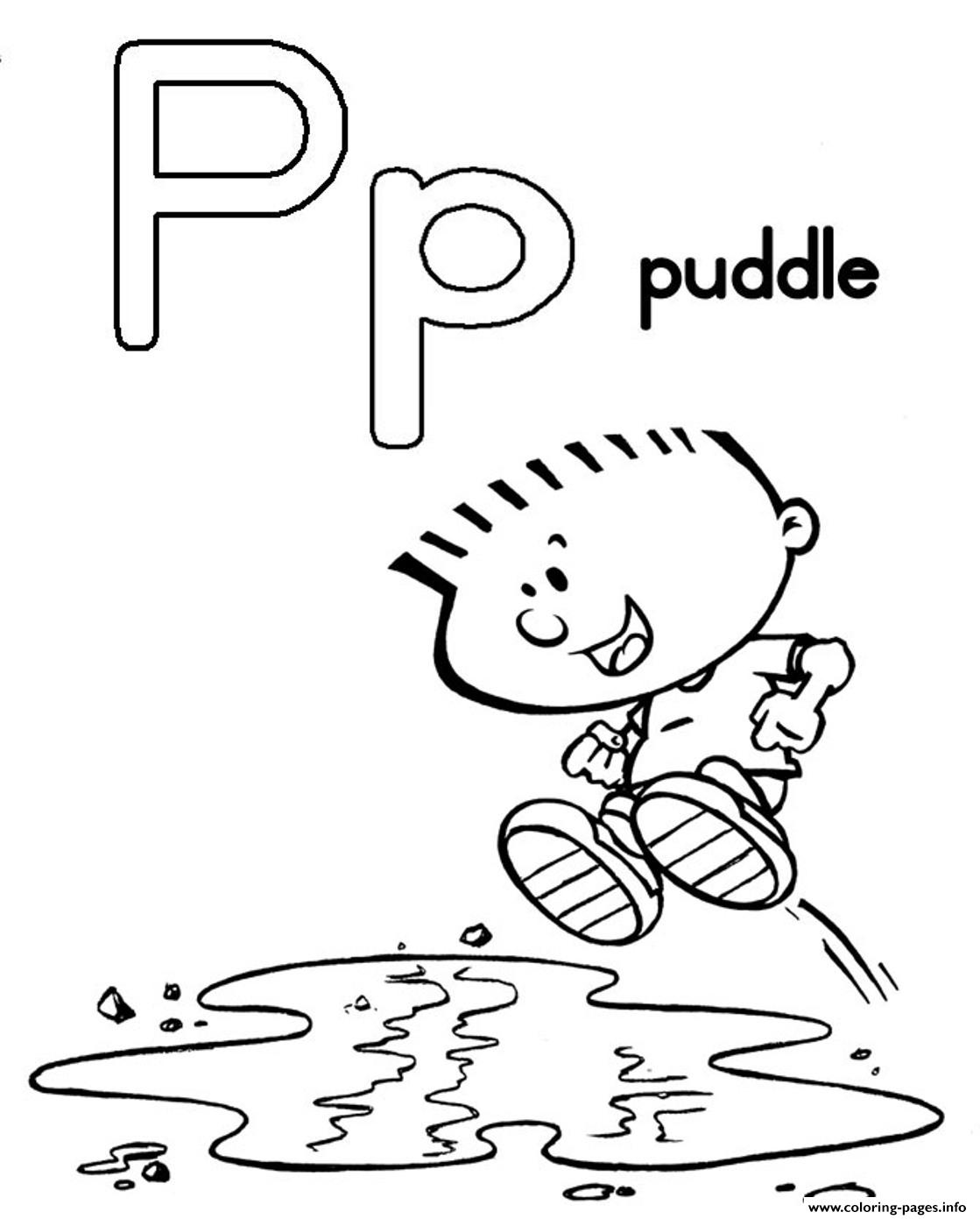 puddle free alphabet s04cd coloring pages printable