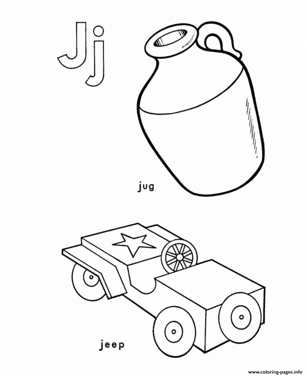 J coloring pages print - J Coloring Pages Print 42