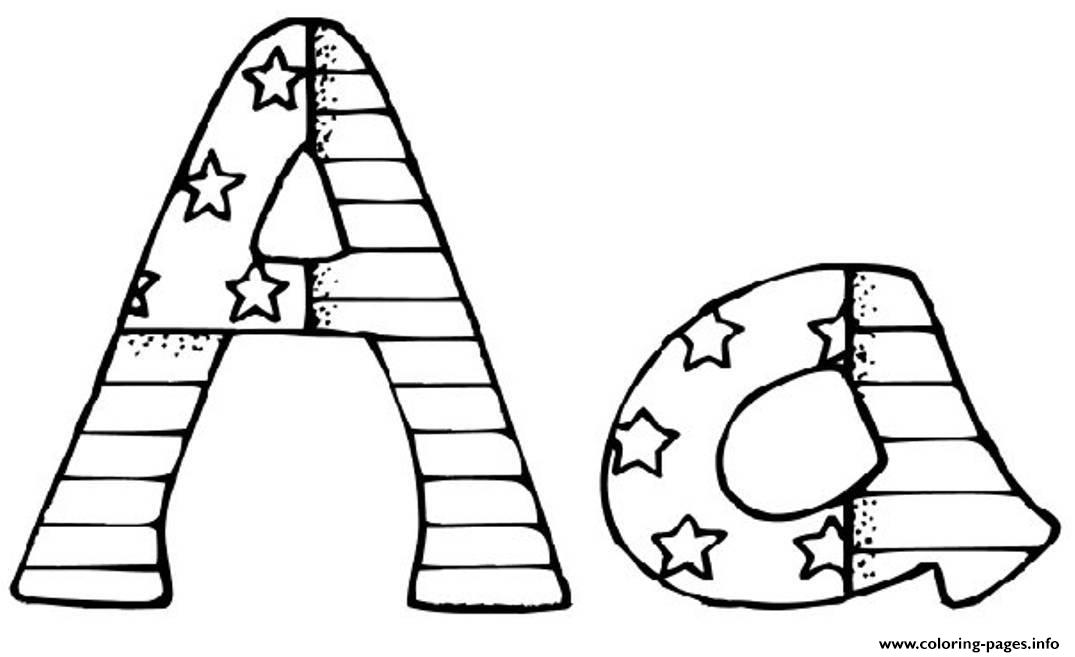 patriotic alphabet s printable4374 coloring pages printable