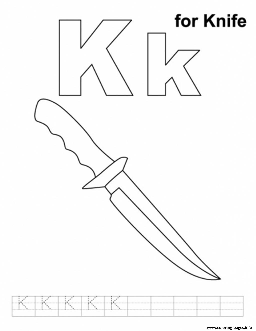 butterfly knife coloring pages - photo#24