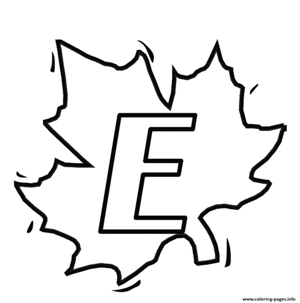 e alphabet coloring pages - photo #49
