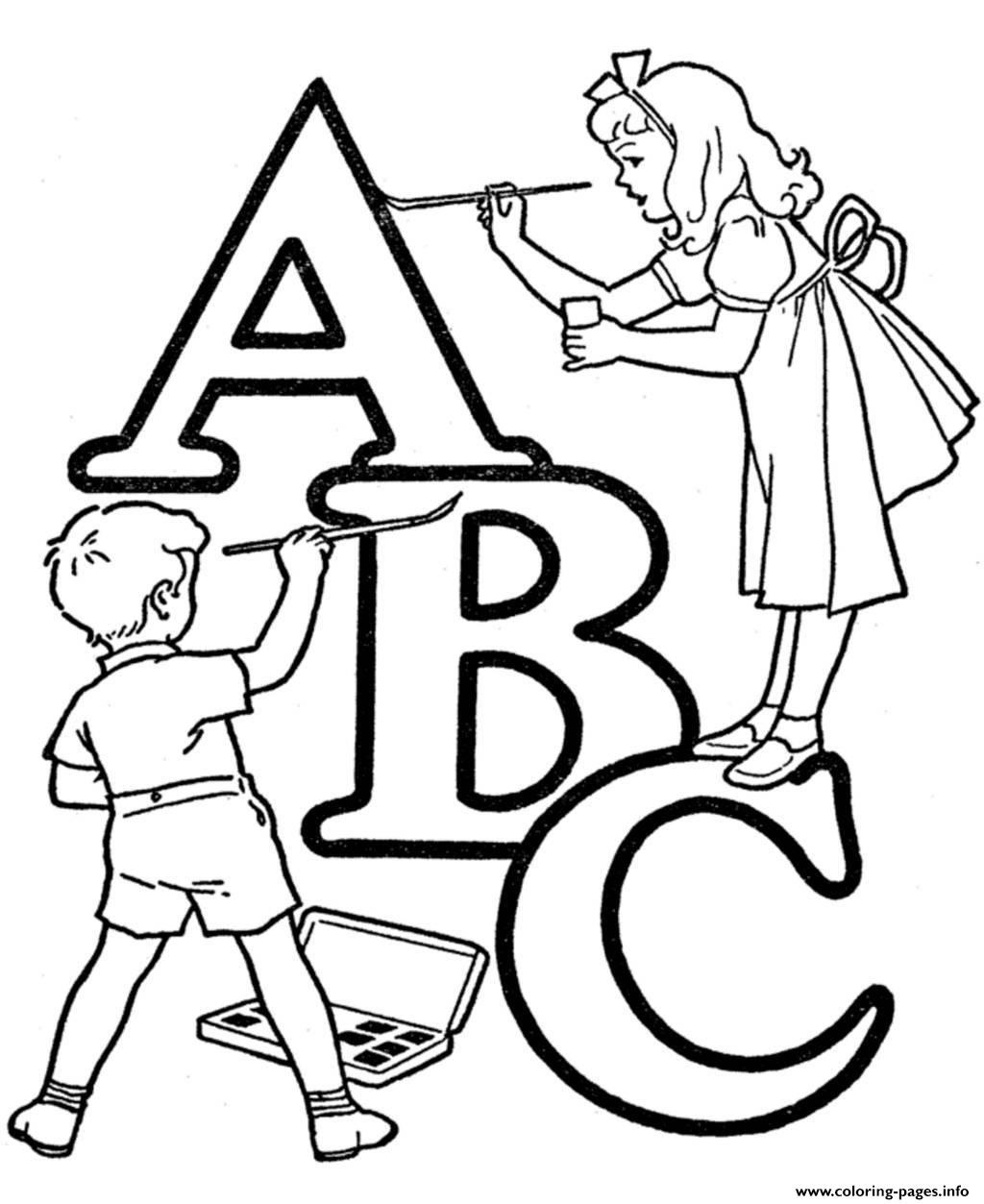 Alphabet S Printable Abc Coloring Kidsf593 Coloring Pages Printable