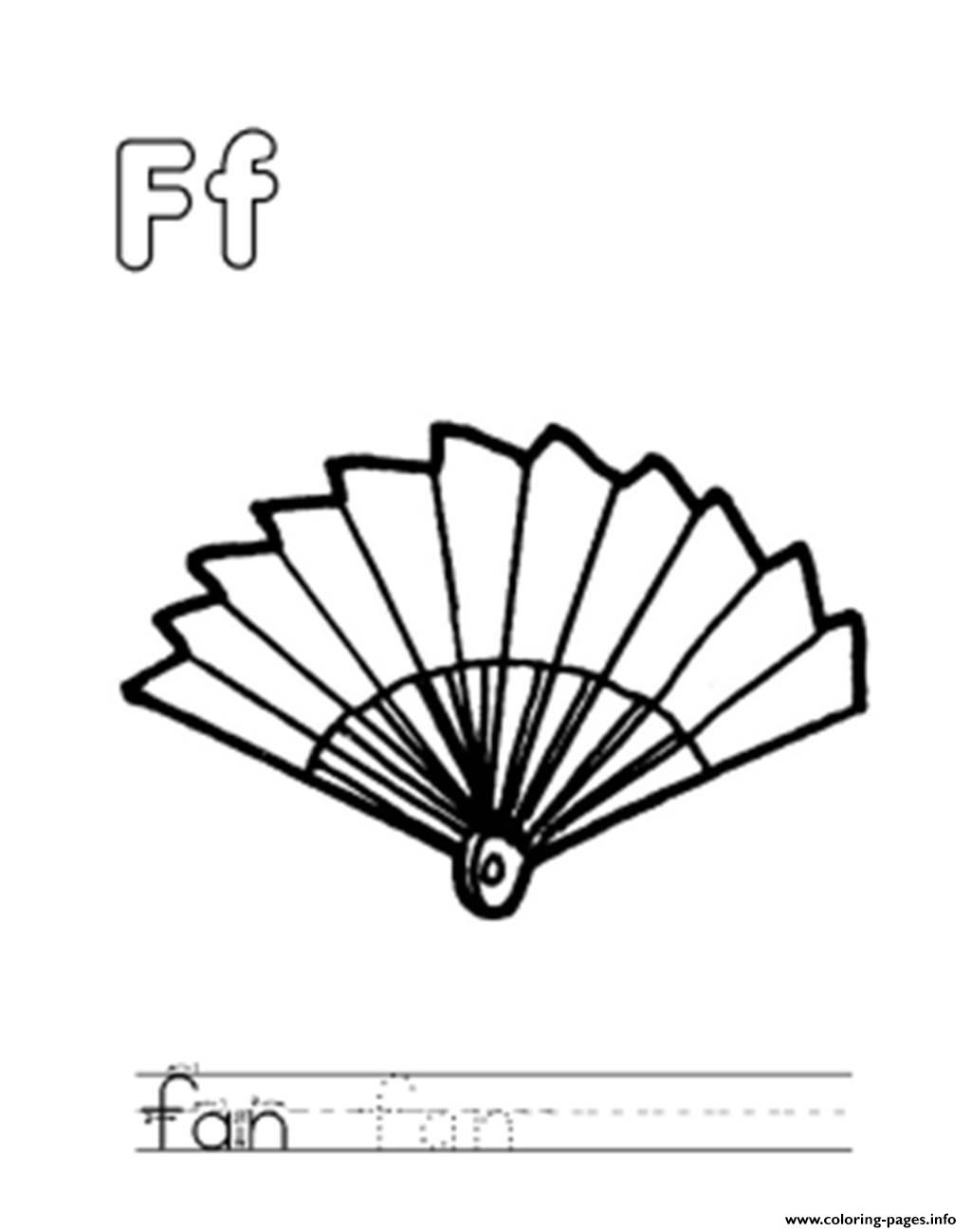 f for fan alphabet s freed219 coloring pages printable