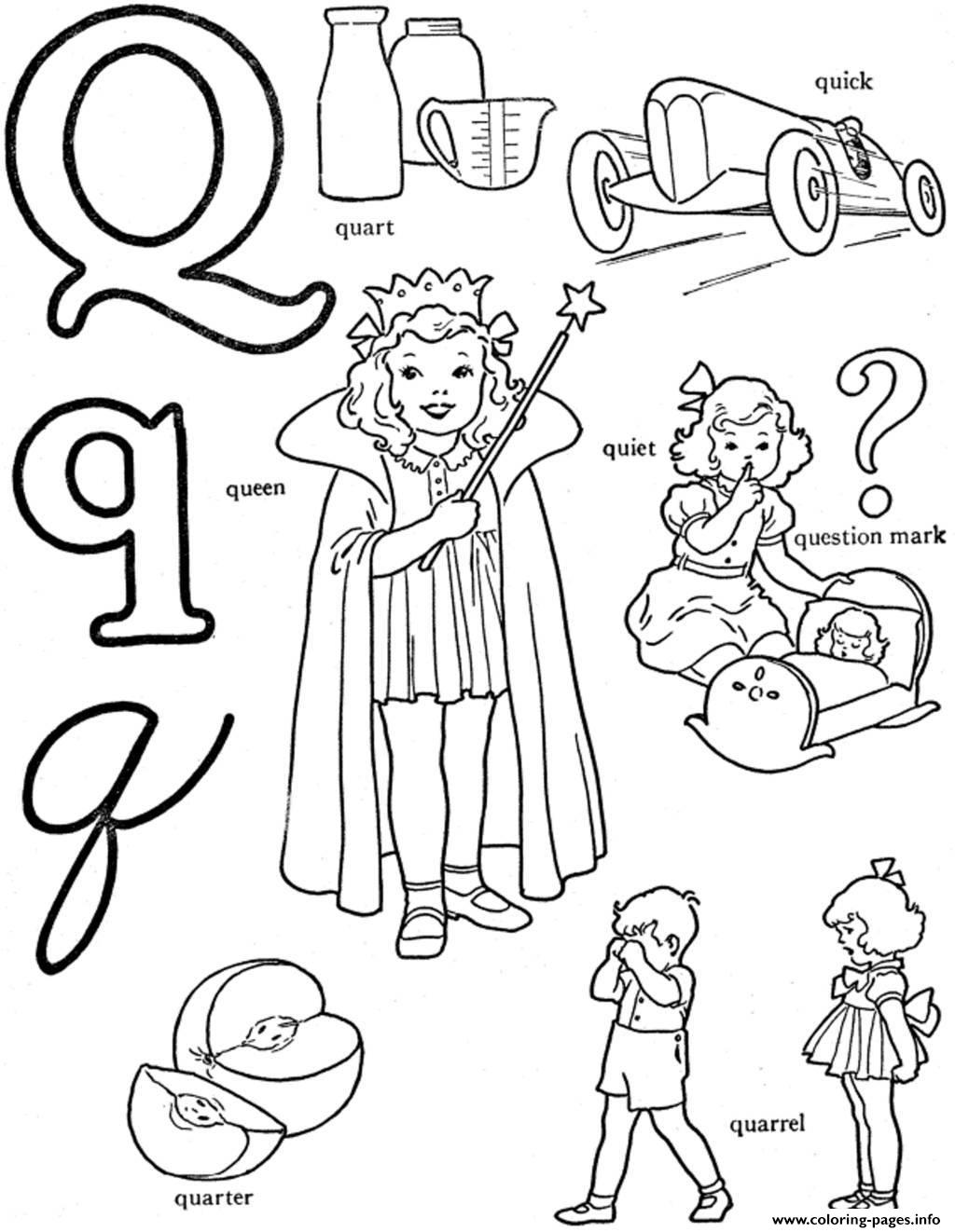 Alphabet S Words For Qa62a Coloring Pages Printable