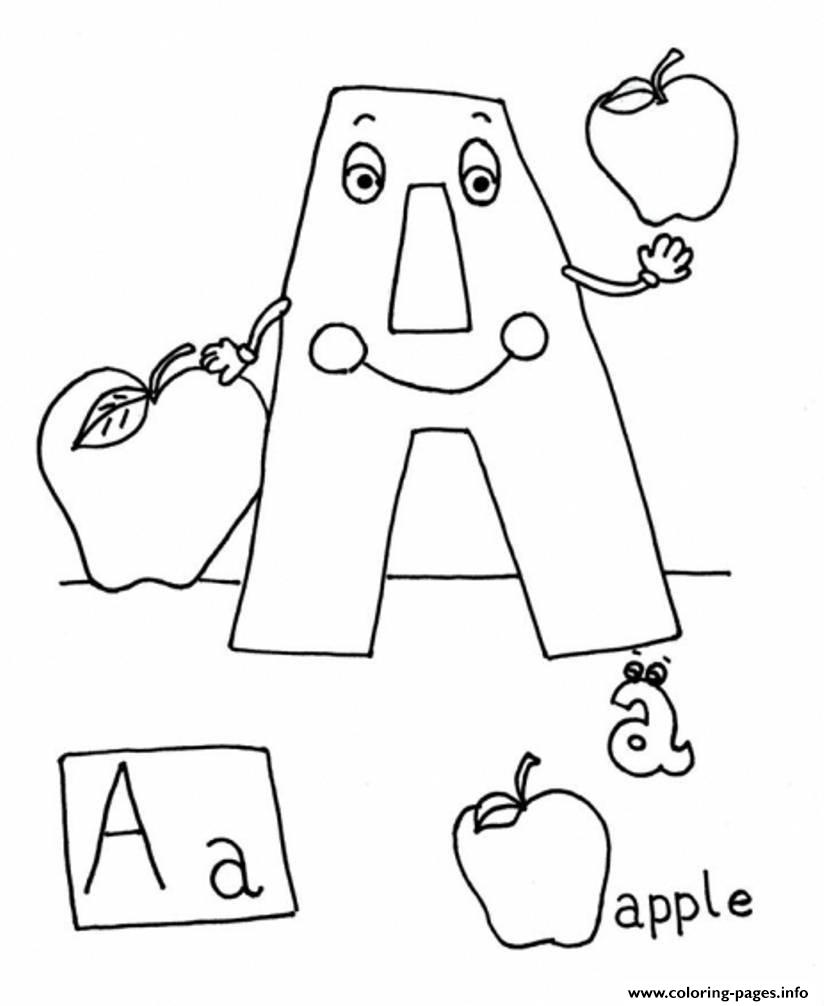 my apple book coloring pages - photo#29